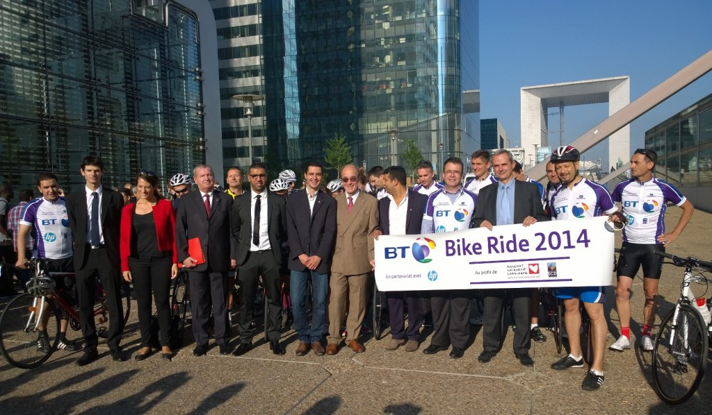 BT Bike Ride : plus de 7 000€ collectés pour ECD !