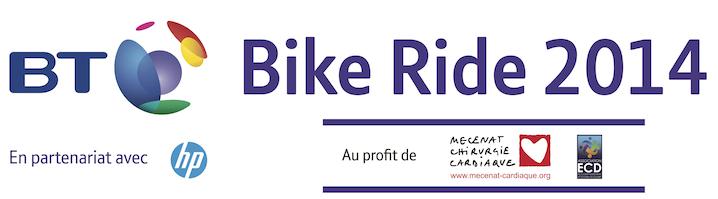 Un projet d'entreprise sportif avec la BT Bike Ride 2014