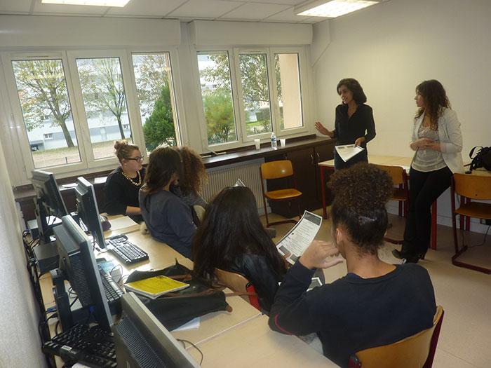 L'équipe RH de British Telecom coache les jeunes d'ECD Sartrouville