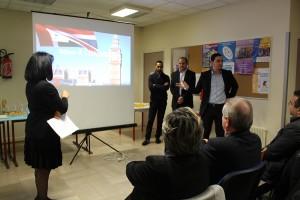 Les membres du bureau ont présenté aux invités les différents projets réalisés par ECD et les excellents résultats obtenus auprès des jeunes.