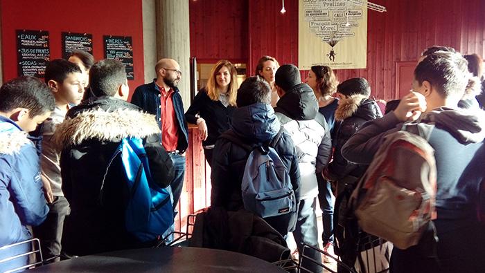 CULTURE. Les enfants d'ECD participent à une semaine d'ateliers au Théâtre National de Sartrouville