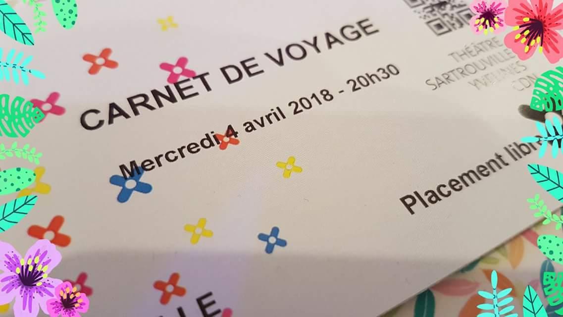 """CULTURE. ECD joue """"Carnet de Voyage"""" au Théâtre National de Sartrouville"""