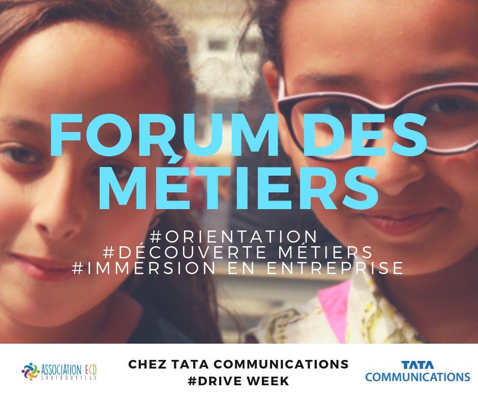 ECD Sartrouville organise un Forum des métiers en partenariat avec le groupe international Tata Communications