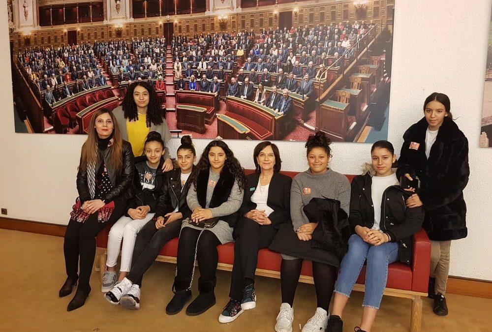 #8Mars Visite du Sénat, projection-débat et  rencontre la sénatrice Laurence Rossignol