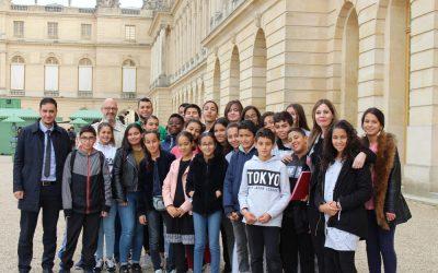 ECD à la Dictée Pour Tous au Château de Versailles